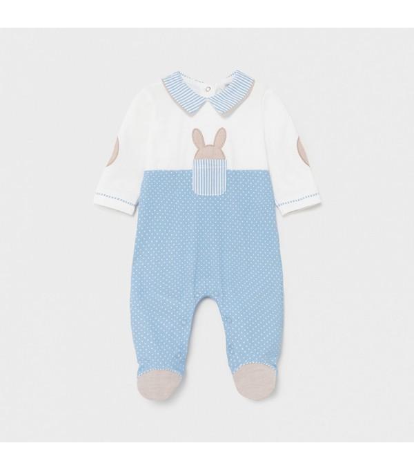 Pijama bebe baiat bleu Mayoral 01622 MY-PIJA01X