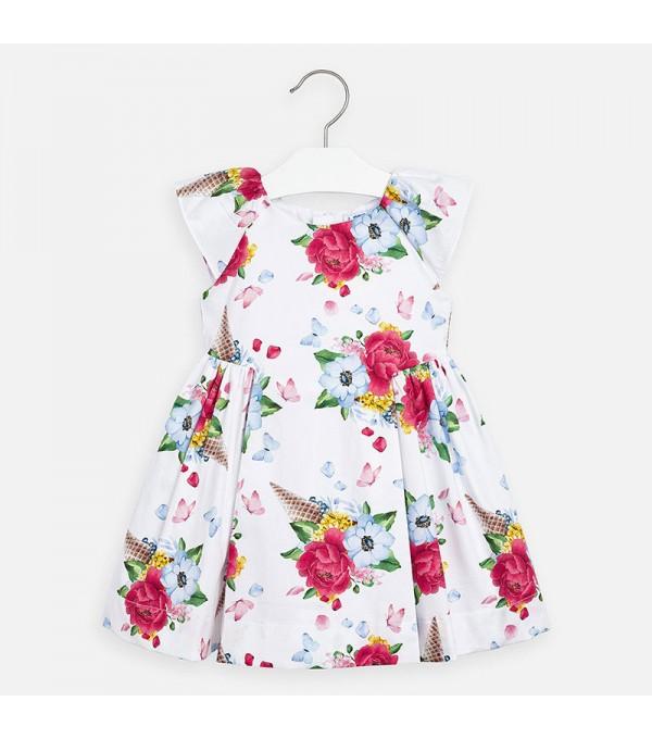 Rochie de fete cu flori Mayoral MY-R16P