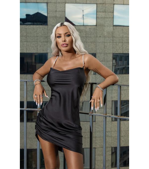 Rochie neagra Mexton MEXR8682X
