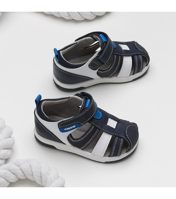 Sandale combinate bebe baiat 41296 Mayoral MY-SAND12X