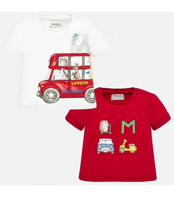 Set 2 piese tricou baieti Mayoral MY-SET37P