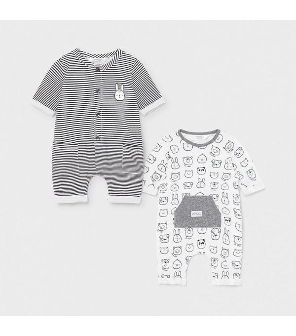 Set 2 pijamale baiat bebe Mayoral 01633 MY-SET02X