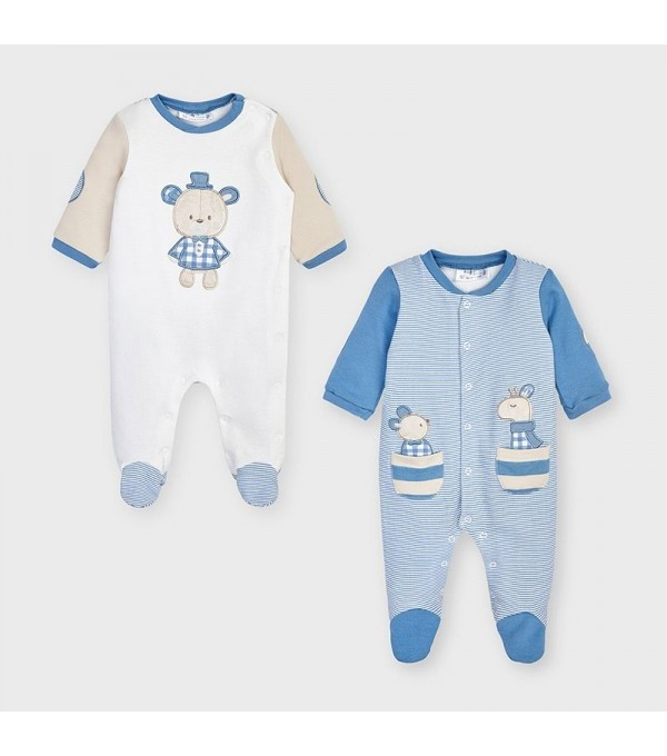 Set 2 pijamale bleu baiat MAYORAL 2771 MY-SET33V