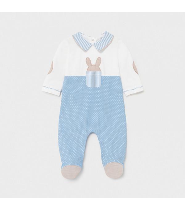 Pijama combinata nou-nascut baiat 1622 MY-PIJA08X