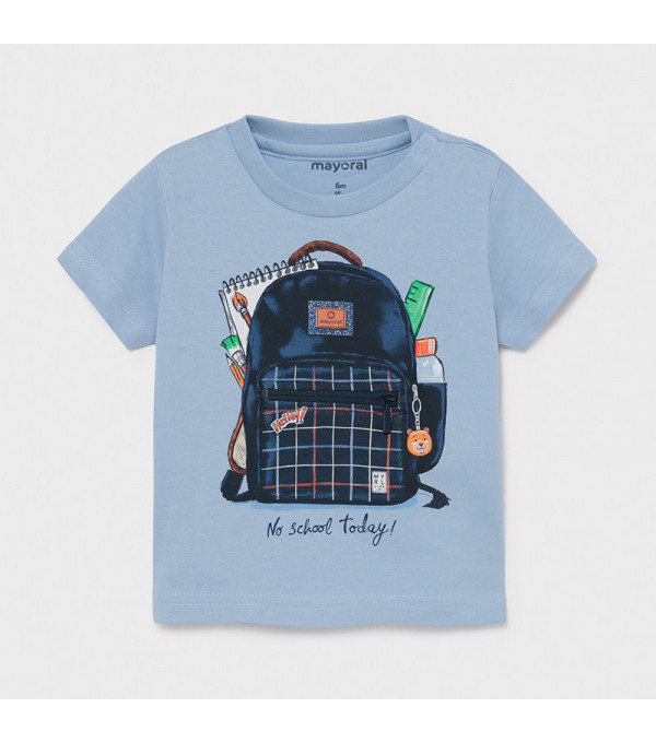 Tricou PLAY WITH ghiozdan interactiv bebe baiat 1011 MY-BL34X