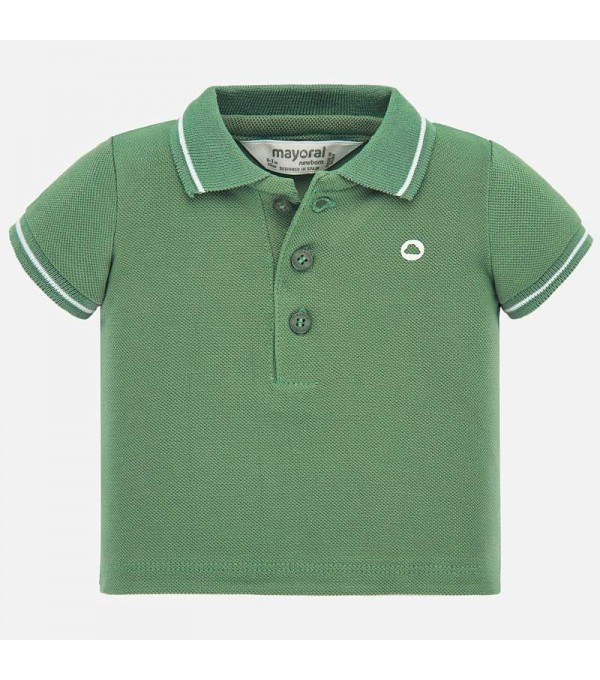 Tricou polo verde Mayoral MY-BL06P